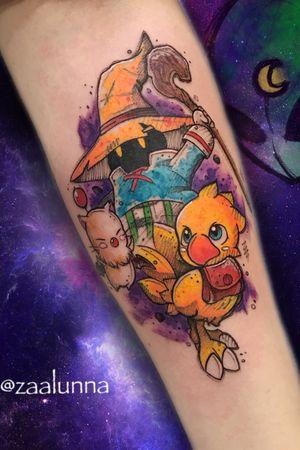 Final Fantasy Tattoo 🎮🌷 Book your tattoo: +351 913 163 583👽 Whatsapp Zaalunna@icloud.com  DM 📩📩 .nocopy. #tattoo #tattoogeek #geek #lisbontattoo #portugaltattoo #lisbon #portugal #finalfantasy #animetattoo #animemasterink #anime_tattoo #finalfantasyxiv #gamerink #ink #animeink #gamerink #cartoon #epicgames #finalfantasytattoo #gamer_girl #gamer #sketchtattoo #blackandwhite #gamers #watercolor #playstation #kawaii #nintendo #sony