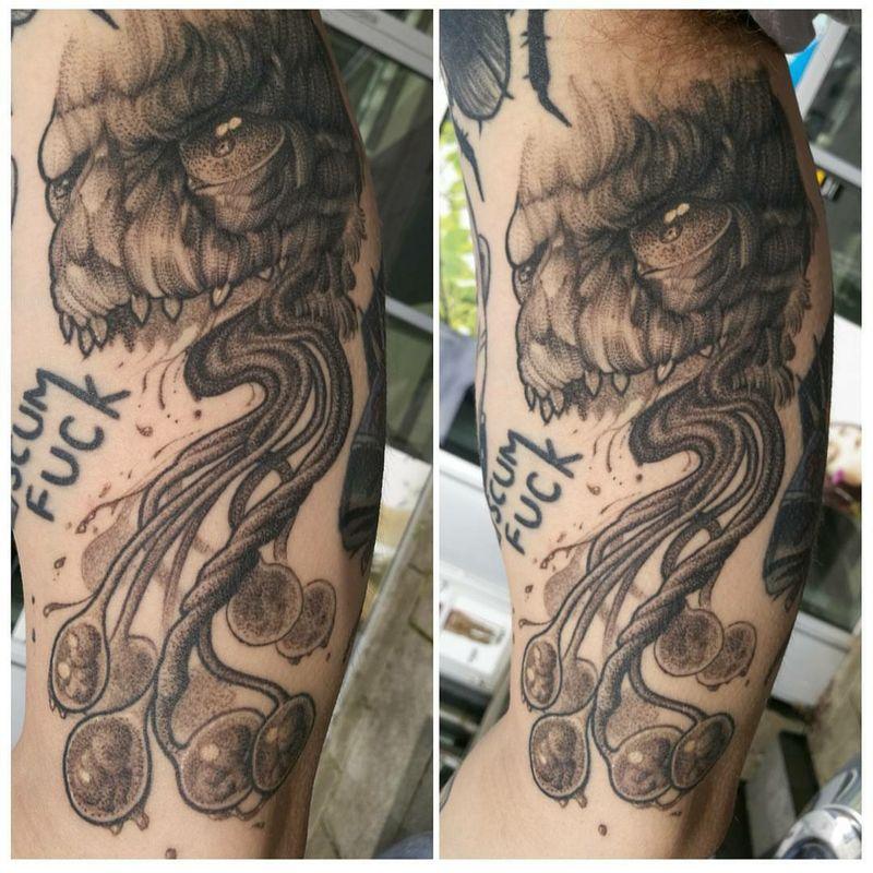 Tattoo from Birna Døgg