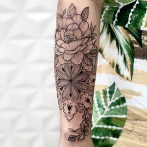 #flowers #mandalas #tattoodo #tattoodobr