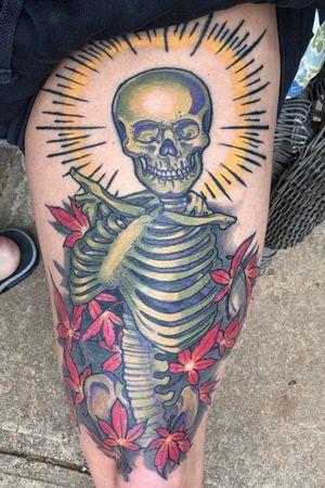 Healed skeleton