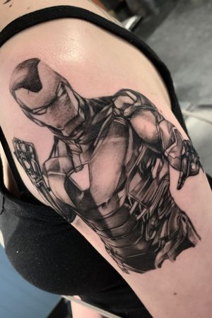 First session on iron man.