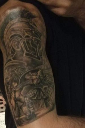 Gladiator #gladiatortattoo #tatouage #tatooartist