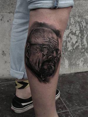 #tattoo #tat #art #blackandgrey #blackandgreytattoo #blacktattoo #BreakingBadTattoos #breakingbad #walterwhite