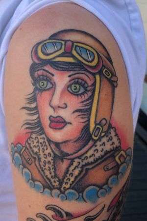 Healed Traditional Aviation Girl