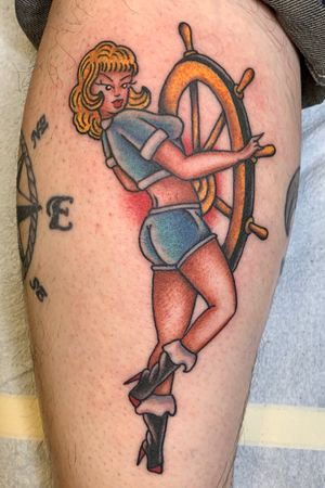 Traditional Pin Up Design