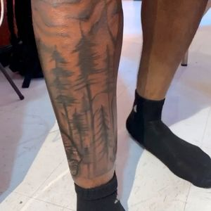 Half leg sleeve I did! Hit me up , I can always work something out! 🔥🤙
