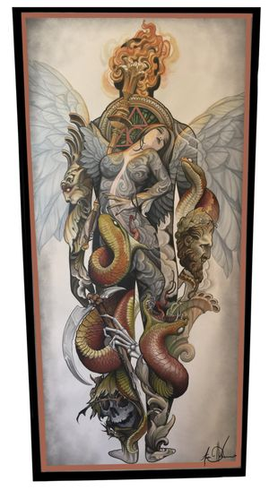 Tattoo from Aaron Della Vedova