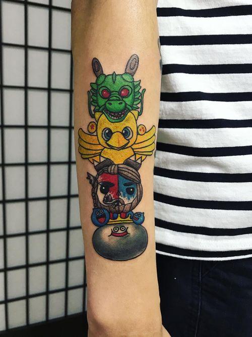 WeChat ID:suntattoo1(only for work)........................... ........................... ........................... #tattooed #tattooart #chinesetattoo #tattooartists #tattoodo #skin #design #skinart #skinart_traditional  #chinesetattoos #drawing #sketch #thebesttattooartists #routines #art #workharder #suntattoostudio #suntattooparlor #neotraditionaltattooers #neotraditional #neotraditionaltattoo #neotraditionaltattoos #neotraditionals #neotradstyle #neotrad #geometrictattoos #tattoodo #totempole