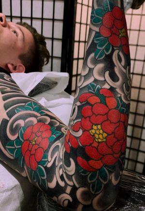 Japanese sleeve #japanese #traditional