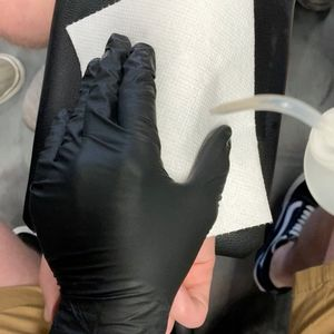Tiny anchor on the wrist