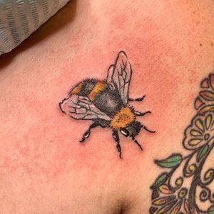 #small #bee #bumblebee tattoo