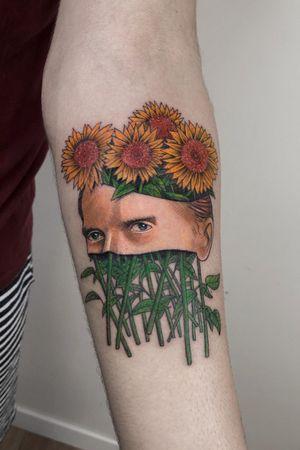 vincent van gogh / sunflowers