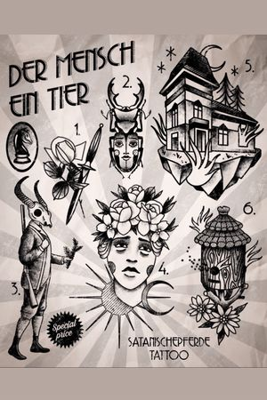 wannado flashset by satanischepferde #erfurt #satanischepferde #designs #drawing #illustration #house #rose #dagger #bees #flowers #woman #hunter #skull #blackwork #dark #creepy #darkart