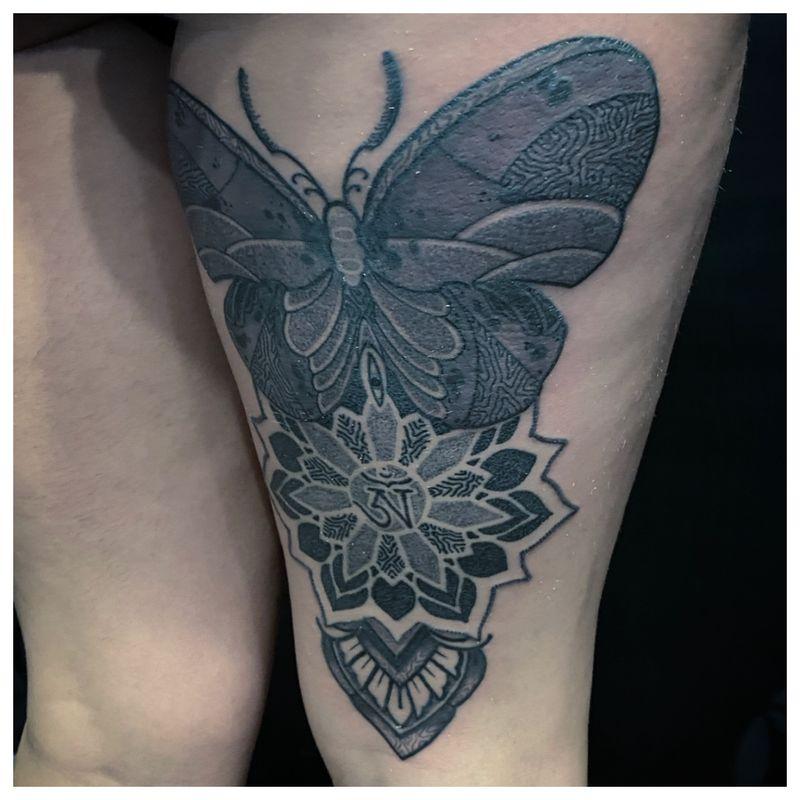 Tattoo from Mandala Sifou