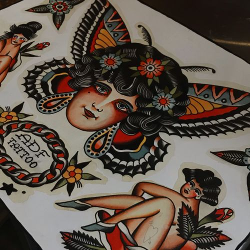 Available design Amsterdam tattoo