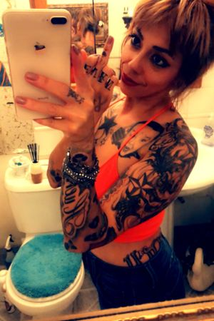 All tatted