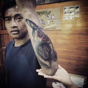 Tattoo by Baan Khagee Tattoo Chiang Mai