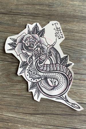 Traditional tattoo flash #traditional #oldschooltattoo #tattoo #tradworkers #tattooartist #vietnam #vietnamtattoo #hochiminh