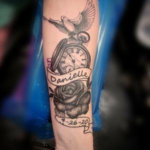 #clock #watchtattoo