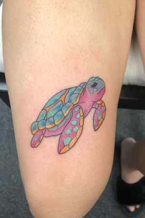 Cool little turtle I did!! Would like to do more from Edmonton Alberta