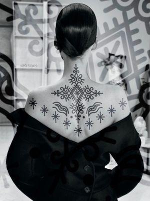 Available flash idea! 📩 🖤🖤🖤🖤marysinnerink@gmail.com for appointment 🤙 @marysinnerink  #hcmctattoo #marysinner #mrypk #ornameental #berbertattoo #oldline #boldtraditional #blackwork #thaitraditionaltattoo #vietnam #tattooflash #morocco #tattooideas #instagram #RosazMarry