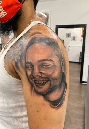 Portrait tattoo from Philadelphia tattoo collective