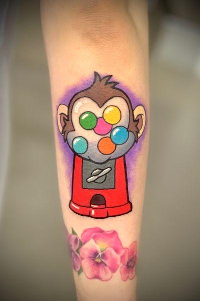 #gumball #monkey #gumballmachine #cartoon #colour #colourful