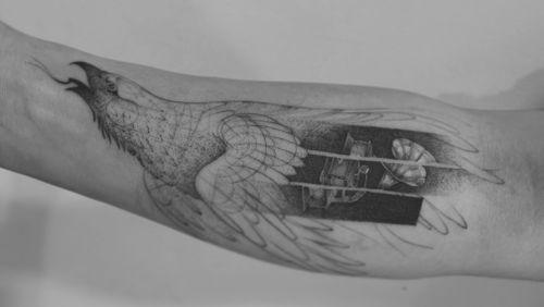 A volar ✨ . .  . . Appointments/Citas: anibalbookings@gmail.com . . . . . #fineart #sketch #blackworkershero #inkstinctsubmission #onlyblackart #artesobscurae #blackworktattoos #blackworktattoo #theartoftattoos #dotworkers #tattoodo #onlythedarkest #iblackwork #blackworkerssubmission #blackworker #instasrt #artwork #tattooinkspiration #tattoo #arts #anibal_tattoo #tattooartist  #blxink #stabmegod #cdmx #bogota #nyc #miami #toronto