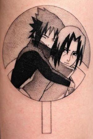 Sasuke and itachi , like two brothers