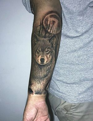 #pirituba #tattoo #tatuagem #pirituba_ink #saopaulo #lobotattoo #lobo #realismotattoo #realismo #pretoebranco #realismopretoecinza