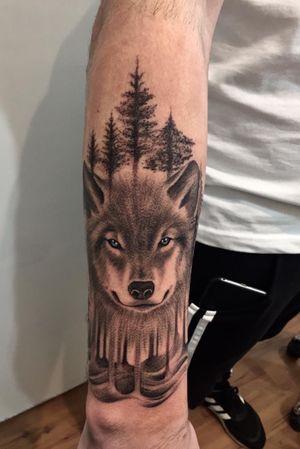 #lobo #wolf #antebrazo #muñeca