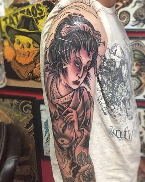 Tattoo by Yokai Society Tattoo