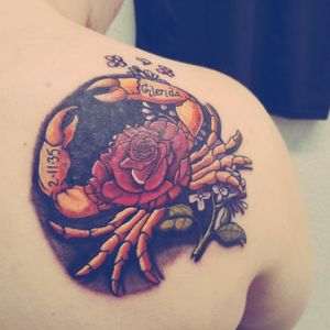 Tattoo from TJ Prior