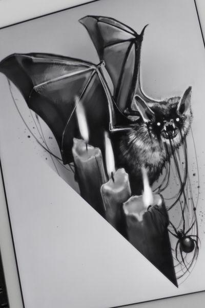 #elensoul #elensoulart #bat #dark #horror