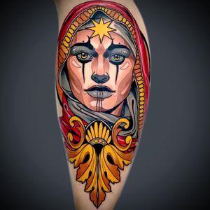 Tattoo by Custom ink tattoo studio