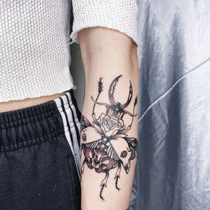 / bugs / #taipei#taipeitattoo#illustrative https://instagram.com/inkbynotyet