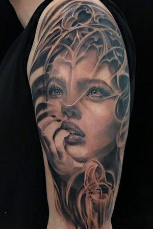 Tattoo carlos art, Tenerife Tattoo, carlos art tattoo