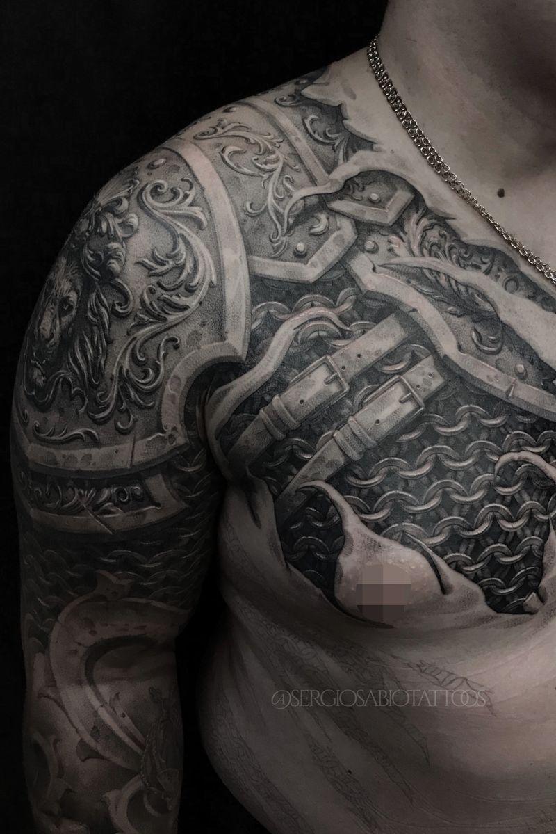 Tattoo from Sergio Sabio tattoos