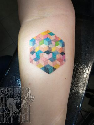 Cube Tattoo