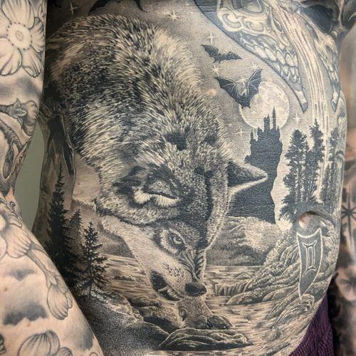 #healed #healedtattoo #tattoo #tatouage #wolf #wolftattoo #animal #animaltattoo #realisticink #realistic #realism #dotwork #dotworkers #dotworkrealism #lausanne #tattoolausanne #fann_ink