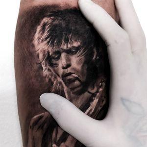 Keith Richards by Tattooflor Flor Taboada