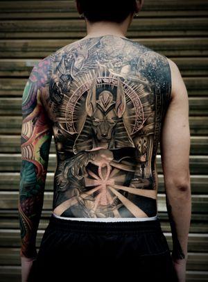 Tattoo from Charles Junitra
