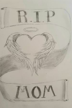 R.I.P MOM #heart #wings #loveyou