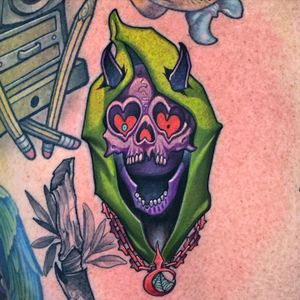 Reaper love.  one of my favorite subjects to tattoo, The Reaper.