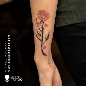 Tattoo by Vishal Maurya at Aliens Tattoo India!