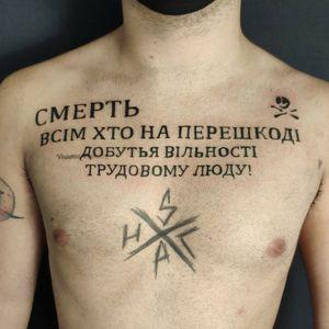 Tattoo by Wyrd Tattoo & Arte