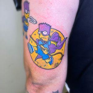 Bartman tattoo