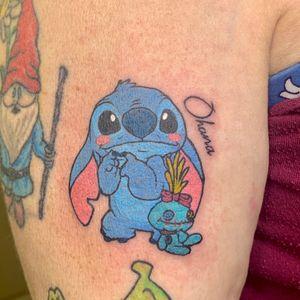 Ohana Stitch tattoo