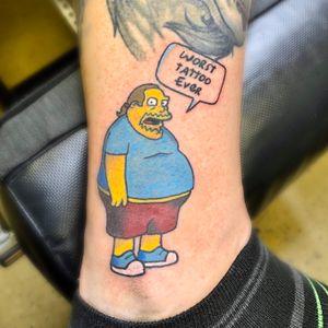 Simpson's Comic Book Guy