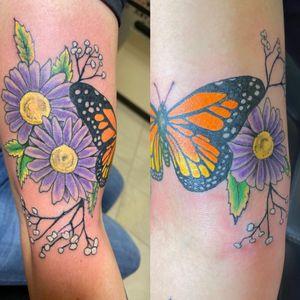 Custom #butterfly